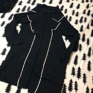 Zara knit open cardigan sweater S